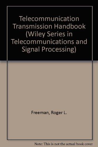 Telecommunication Transmission Handbook