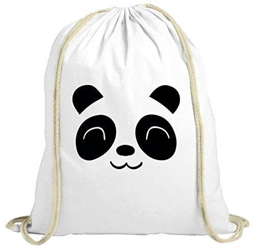 Sacchetto Natura Animale Carino Panda Bianco Natura