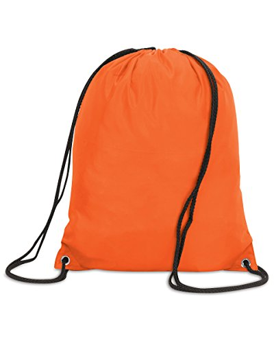 Shugon Stafford Kordelzug Tasche Turnbeutel klassischer Stil Nylon Rucksack Orange - Orange