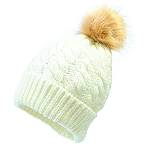 Chapeau ADESHOP Mode Parent-Enfant Bonnet Tricot Maman Et BéBé Couleur Pure  Casual ÉLasticité à Tricoter Garder Au Chaud Chapeau d hiver Chic (Taille  de ... 0577378ddc2