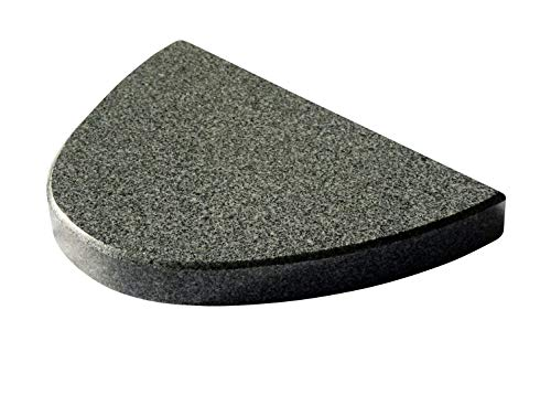 Halbovaler Grillstein aus Granit für den Kugelgrill - 30cm Lang 20cm tief 3cm stark