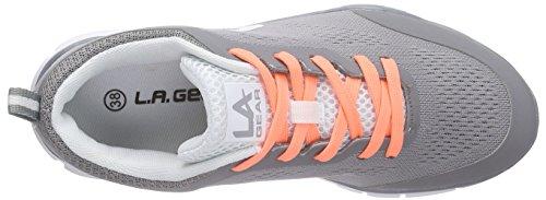 dk Damen a L Grey Sneakers 08 Gear Grau Malibu xUzv7Yvn