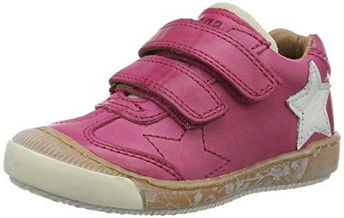 Bisgaard Klettschuhe, Sneakers basses mixte enfant Pink (4001 Pink)