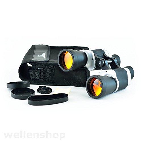 wellenshop Fernglas 7 x 50 Autofokus Porro K9 mit Tasche