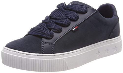 Tommy Jeans Ankle Lace Sneaker, Sneakers Basses Femme