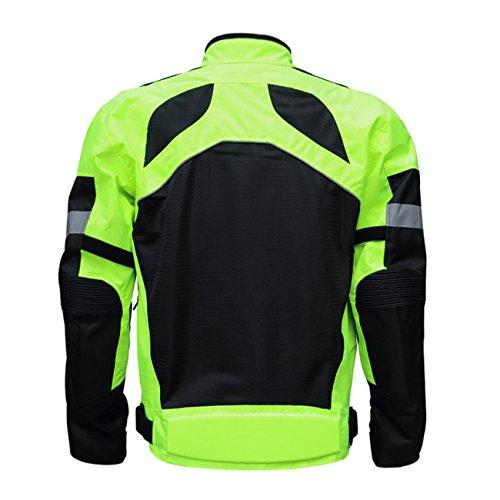 Herren Motorradjacke Textiljacke Motorrad Jacke Textil Roller Biker Touring Touren Gr. M L XL XXL 3XL 4XL - 2