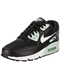 newest collection 43ab9 7cbae Nike Damen WMNS Air Max 90 Gymnastikschuhe Bianco Grigio Nero