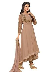 a17efc6f052 Ethnic Yard Latest Faux Georgette Party Wear Anarkali Salwar Kameez