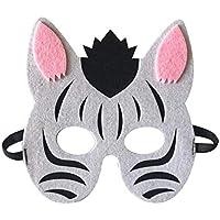 Li_unmio Máscaras Decorativas Lindas de la Moda y del Ambiente de los niños Animales de los niños máscara Decorativa Linda (N)