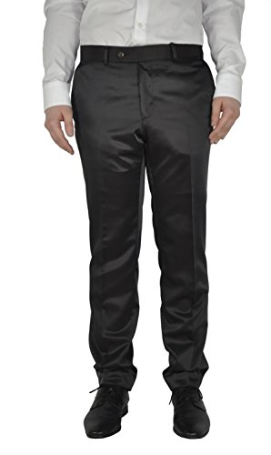Michaelax-Fashion-Trade - Pantalon de costume - Droit - Uni - Homme Schwarz (00)