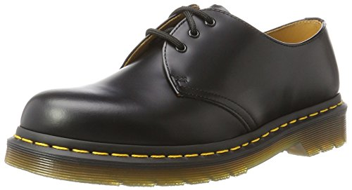 Dr. Martens 1461 59, Unisex Adult Derby Chaussures richelieu à lacets - Noir (Black Smooth), 44 EU (9.5 UK)