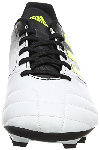 adidas Herren Ace 17.4 FxG Fußballschuhe Mehrfarbig (Ftwr White/solar Yellow/core Black)