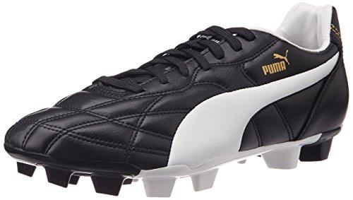 Scarpe Bianco Uomo Puma nero Da Fg Nero Oro Calcio Classico qwEZCvUB