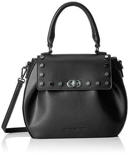 Armani Exchange Tote Bag With Stud, Sac porté main...