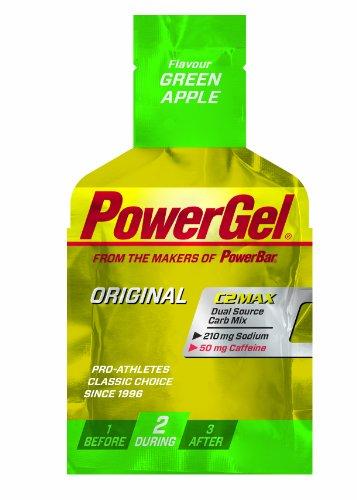 Powerbar PowerGel Grüner Apfel + Koffein, 3er Pack (3 x 41 g) -