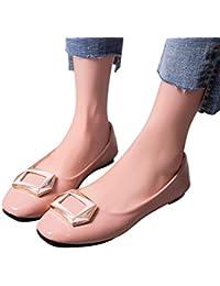 Zapatos mujer primavera verano ❤️ Sonnena Sandalias de verano con plataforma Mujer Zapatos planos Casual del talón bajo de señoras