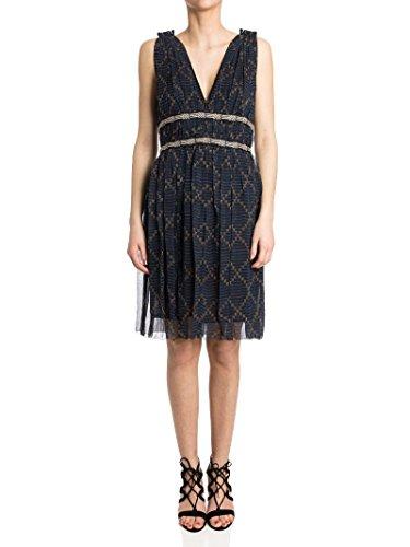isabel-marant-womens-ro087817p023e01bk-blue-black-silk-dress