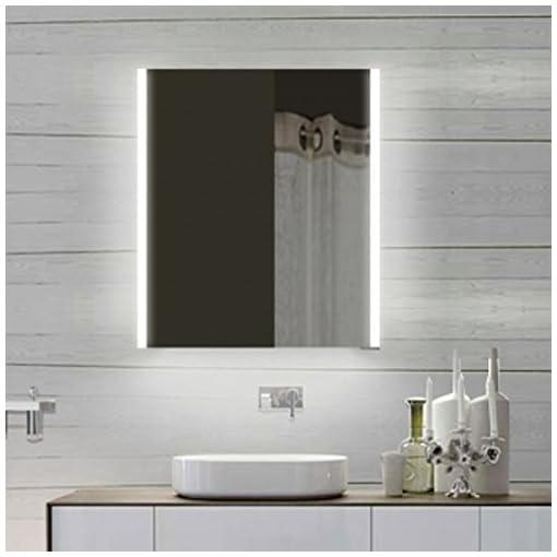Immagini Specchi Da Bagno.Top Design Armadietto Con Specchio Con Cornice In Alluminio