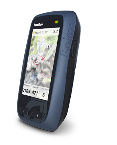 41Af55Dl8 L - TwoNav Anima Handheld GPS with Great Britain OS 1:50000 Mapping - Blue/Black