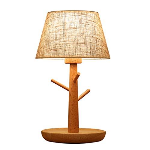 Lampe de bureau Style nordique moderne Designs simples Lampes de table Salon Décor Chambre Lumière de lecture en bois Suspendre