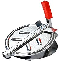Dunims® Stainless Steel Puri Press/Puri Machine/Chapati Press/Roti Maker/Papad Maker Machine (7.5 in)