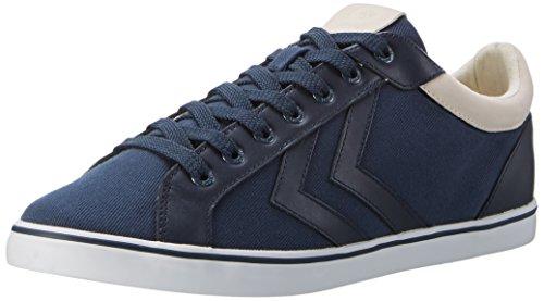 hummel Herren Deuce Court Premium Sneakers, Blau (Total Eclipse), 44 EU