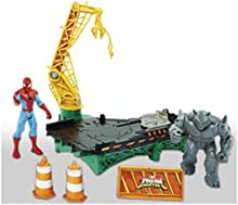 SPIDER-MAN B7199EU40 Marvel Rhino Rampage Play Set