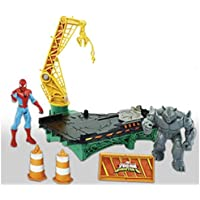 Marvel Spiderman - B7199 - Set de Rhino Rampage