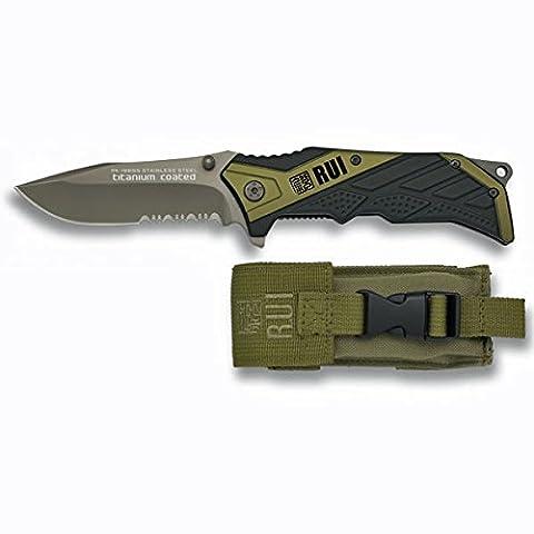 Couteau de poche 19655 Vert OD - RUI - Vert OD
