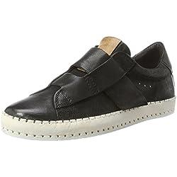 A.S.98 Damen Blink Sneaker, Schwarz (Nero/Nero/Nero/Nero/Grano/Osso), 38 EU