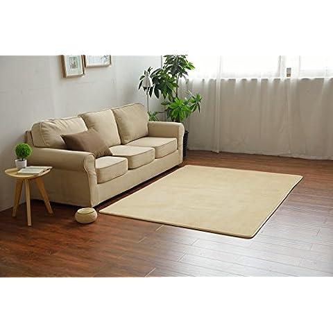 Shaggy alfombra tradicional con modernas?salón dormitorio niño arrastrándose esterillas antideslizantes de terciopelo coral Alfombrillas de piso,marrón