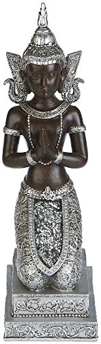 Thai Buddha Deko Figur Budda Skulptur Buddhismus Statue Thailand Feng Shui Glück