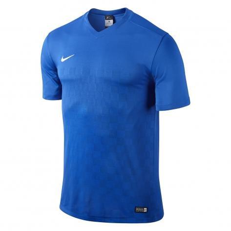 Nike-Maglietta a maniche corte da uomo energia III Jersey, Uomo, Short Sleeve Energy III, Royal Blue/White, S