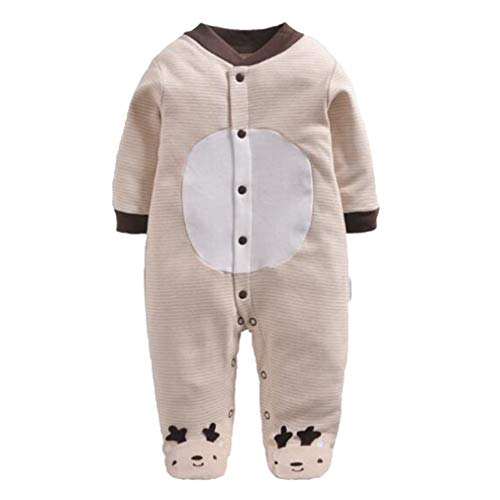 Baby Strampler Nerd Kostüm - Mxssi Enfant Overall Neugeborenen Strampler Langarm Baby Kleidung Körper Anzug Baumwolle Infant Boy Sport Baseball Kostüm