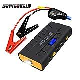 Die besten Autobatterie-Jumper - MOCRUX Auto Starthilfe, 500A Spitzenstrom 13600mAh Tragbare Autobatterie Bewertungen