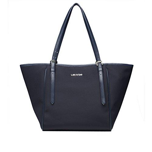 Puro colore monospalla borsa/ladies borsa di tela/borsetta semplice pendolarismo borsa grande-A E