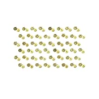 Cousin DIY 39999769-B1 Zodiac Charm Set for Jewelry Making, Set of 48, Gold