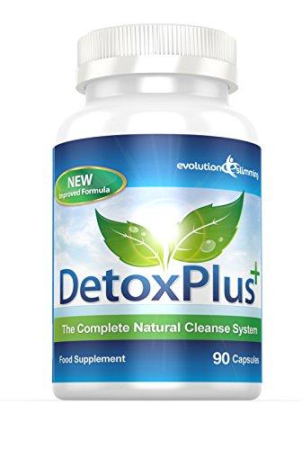 Evolution Slimming DetoxPlus Darm Reinigungs System - 90 Kapseln Packung - Kräuter-diät-pille