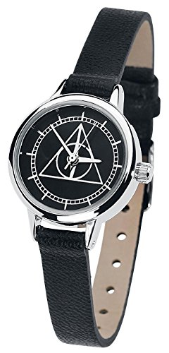 Harry Potter Deathly Hallows Wristwatch black