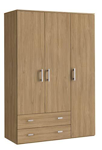 Klipick armadio 3 ante + 2 cassetti altezza 207 oriana