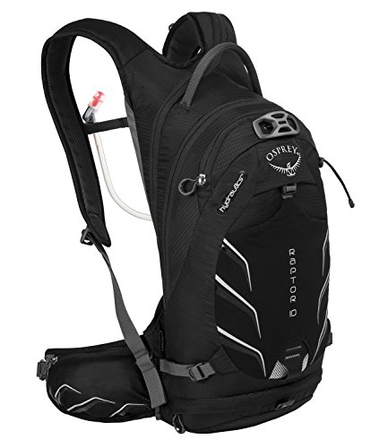 Osprey Raptor bicicleta de mochila, 10L, color negro