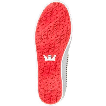 Supra - - Herren Wrap Schuhe Light Grey/White/White