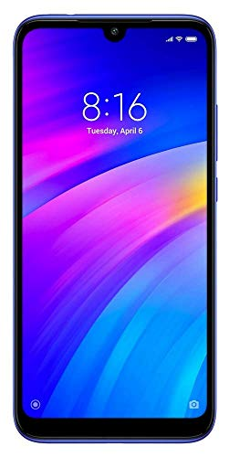 Redmi 7 (Comet Blue, 3GB RAM, 32GB Storage)