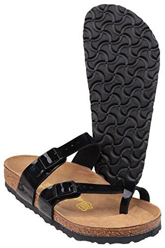Birkenstock Mayari Ladies estate sandalo Nero