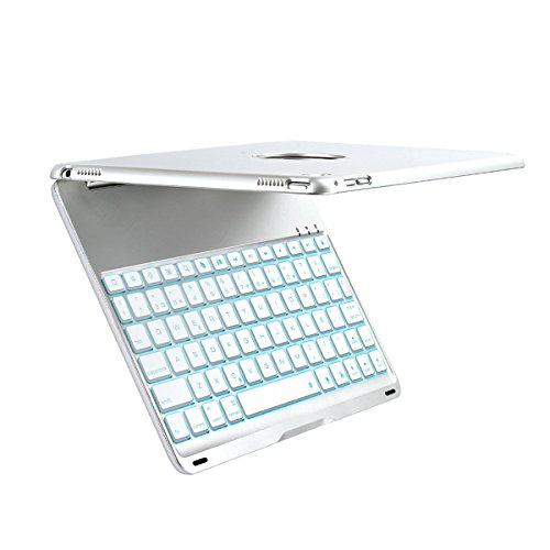 iEGrow F8Spro Teclado y Funda de 7 colores retroiluminaciones LED para el...