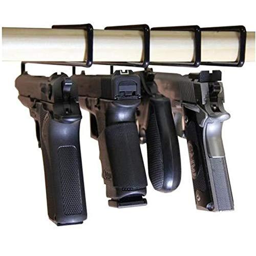 WQ-Hunting, 4 stücke Haken Rack Halter Veranstalter Lagerung Für Regale Und Safes Jagd Zubehör Taktische Pistole Aufhänger Lösung Gun Safe Pistole