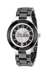 Just Cavalli - R7253188525 - Montre Femme - Quartz Analogique - Bracelet Céramique Noir