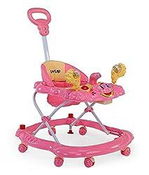 LuvLap Baby Walker Sunshine Pink