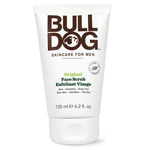 BullDog Original Exfoliante para cara–Juego de 2