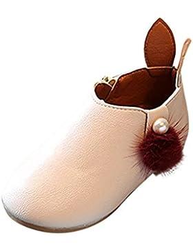 BZLine® Kleinkind-Baby-Mädchen-nette Kaninchen-Ohren-Ball-Turnschuh Warme Stiefel